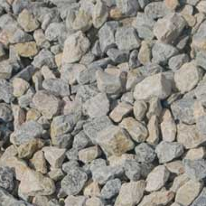 1.5 INCH CRUSHED ROCK Composition: 100 percent crushed White Limestone Rock. Pure washed rock. Applications: This is a highly versatile material; some of the uses are: driveways, roads, parking areas, pathways, picnic areas, decorative landscapes, erosion control and French drains. $50.00 Per Cubic Yard