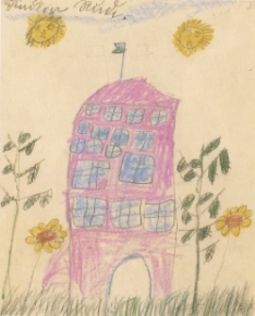 Child's drawing, Rudi Schindler