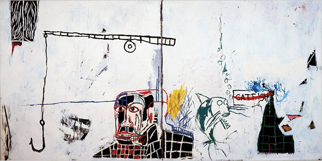 Undiscovered Genius of the Mississippi Delta  (1983), Jean-Michel Basquiat