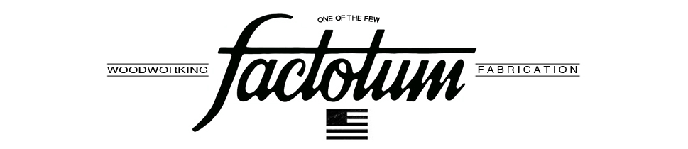 Reclaimed Woodworking, Custom Vintage Motorcycles and Apparel - Factotum USA - Made in the USA, Based in the Midwest.