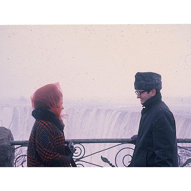 #tbt My parents visiting Niagara Falls before I existed. And I can't wait to visit them this weekend.