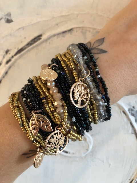 New Boho Beaded Bracelet Stacks: On Sale Now!