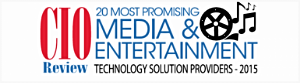 We are proud to be selected by the panel of CEOs, CIOs, VCs, and CIO Review's editorial board as one of the top 20 best consulting firms who provide key technology solutions and services related to Media and Entertainment.