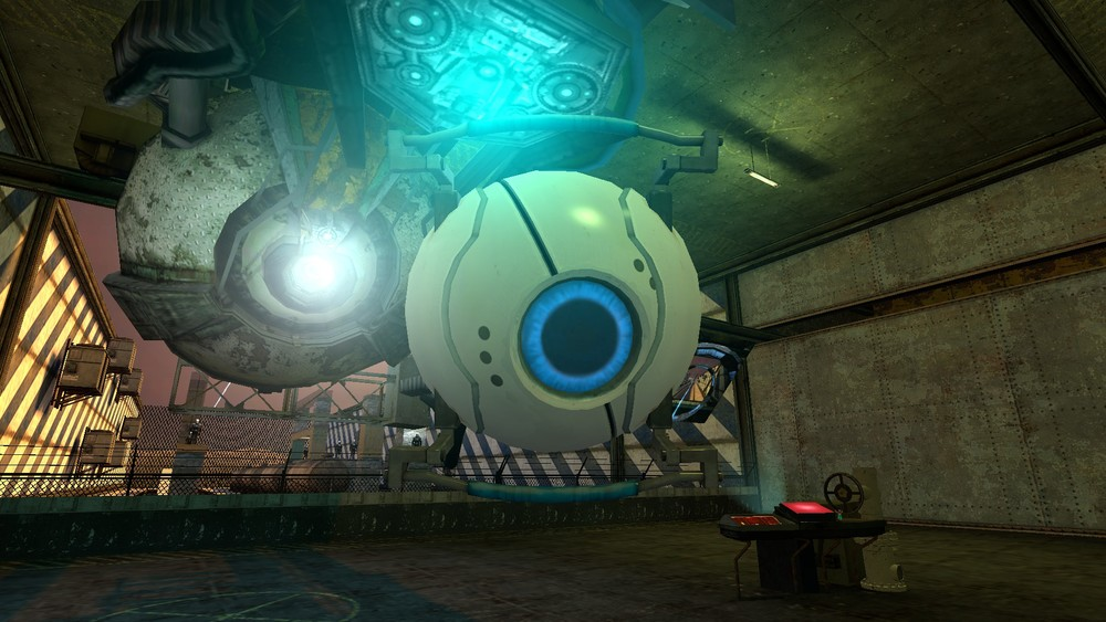 The Personality Core projectiles are impervious to damage and will plow through objects.