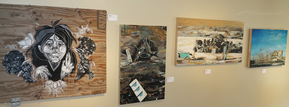 Works by Meghan Fox and Val Sears