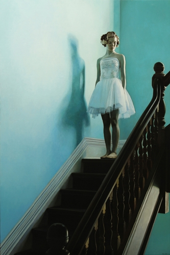 Shaun Downey, On the Stairs