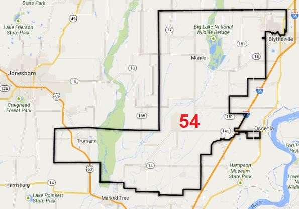 Arkansas House District 54