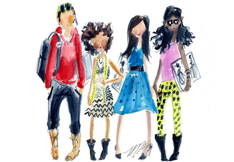 Fashion Students