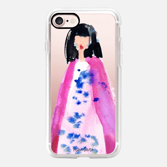 Phone Case : ALL SIZES TRANSPARENT CASE : FASHION BLOGGER