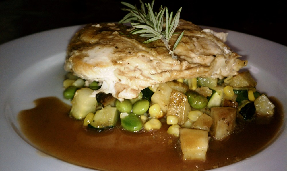 Pan Roasted Chicken with Seasonal Vegetable Succotash and Merlot Sauce - Copy.jpg