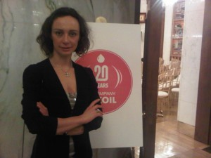 Lukoil event at the Russian Embassy