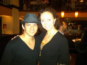 """Jonathan """"Legacy"""" Perez with Aleksandra Efimova"""