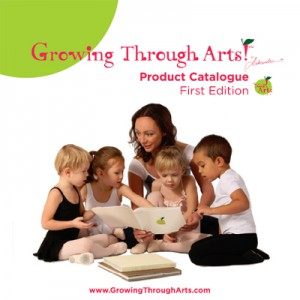 Growing Through Arts catalogue