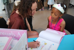 Sleeping Beauty book signing at Joffrey Ballet