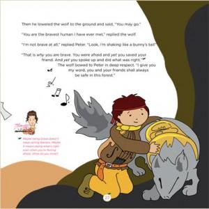 The Peter & the Wolf Symphony by Aleksandra