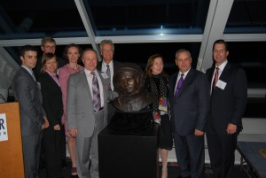 Yuri Gagarin statue at Adler Planetarium