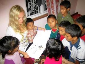 Zoryana in Nepal