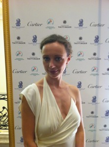 Aleksandra Efimova at Children's Hospital gala