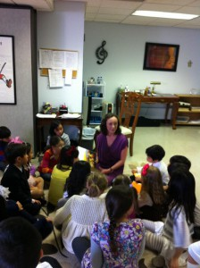 Reading at the Betty Haag Music Academy
