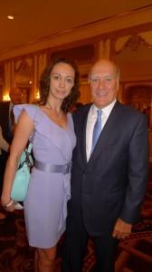Aleksandra Efimova and Bill Daley