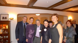 Aleksandra Efimova with Irwin Weil