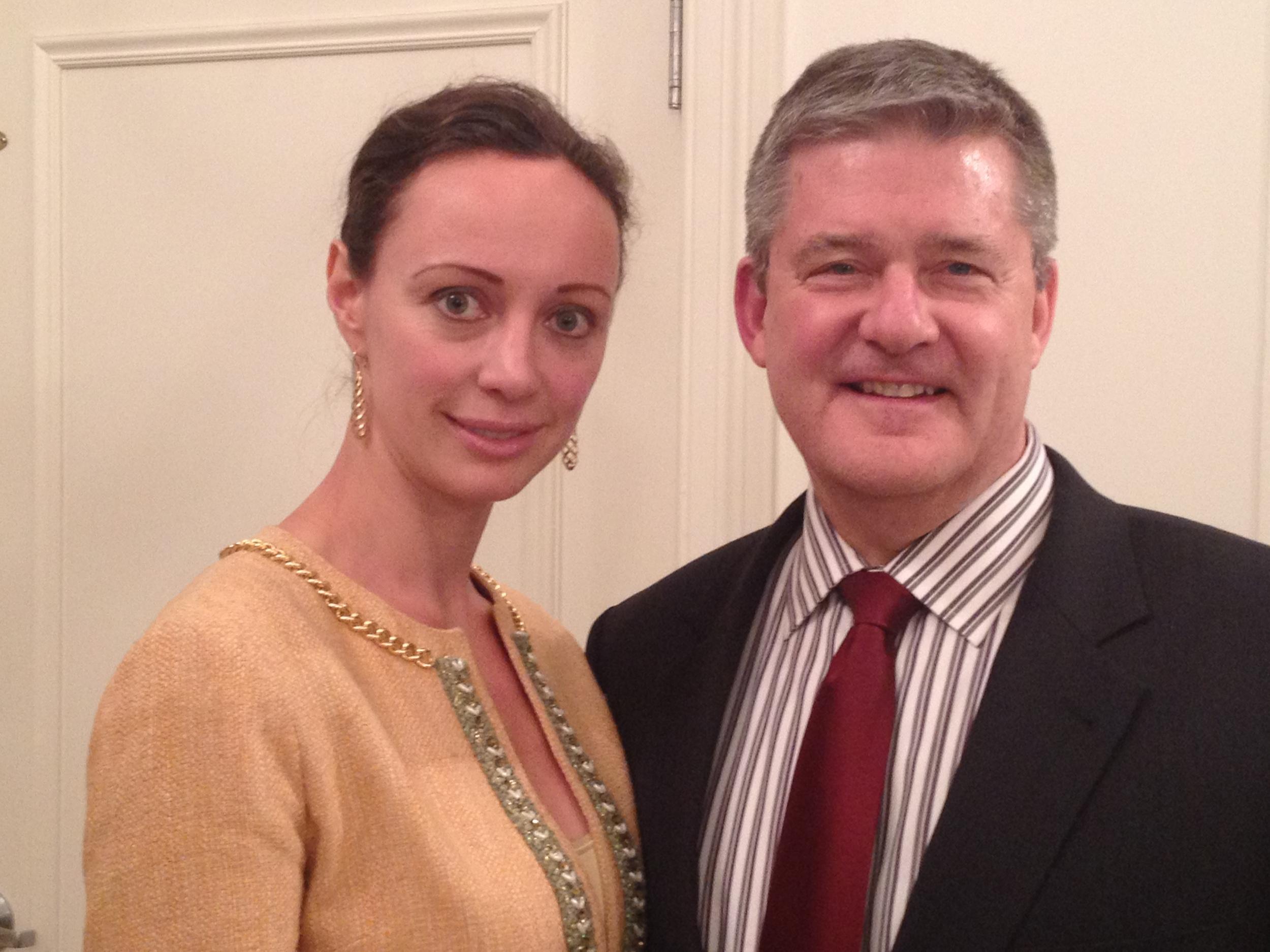 Aleksandra Efimova and Dan Rutherford