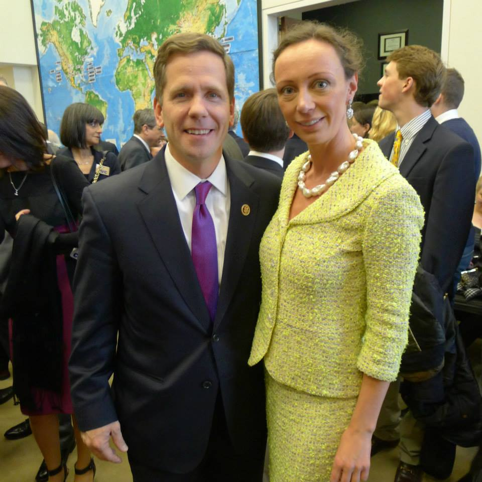 With Congressman Bob Dold