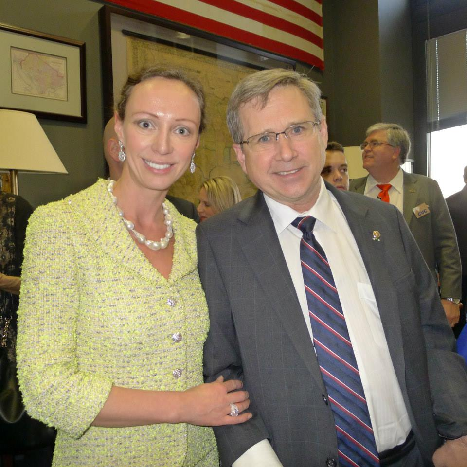 With Senator Mark Kirk