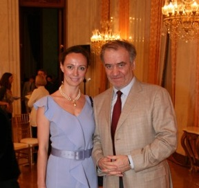 Aleksandra Efimova and Valery Gergiev