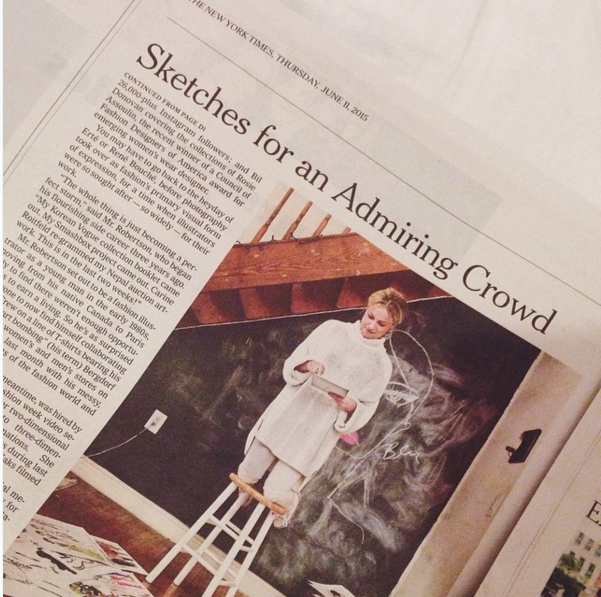 New York Times, June 2015