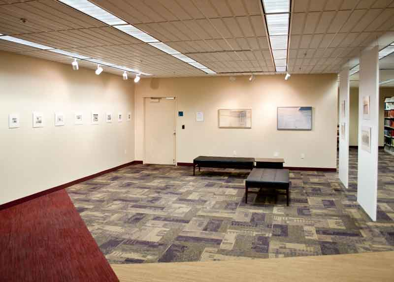 Installation view, Columbus Public Library, Summer 2013.