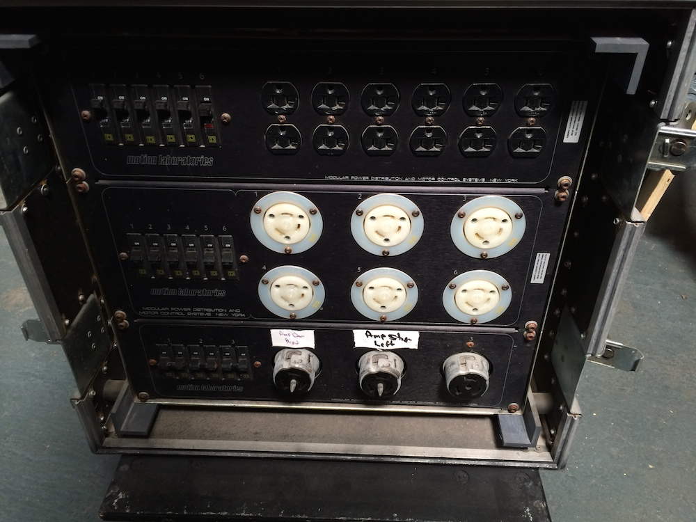 MOTION LABS -200A 3 PHASE. 20A, 30A, 50A, 30A TO EDISON