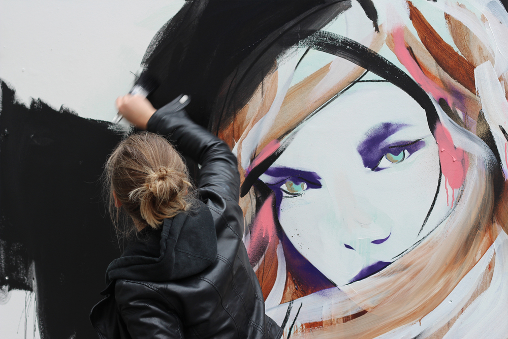 STROKE Art Fair 2013 in Berlin Hannah Adamaszek via i-love-urbanart