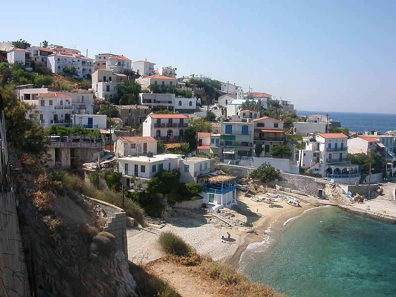 Ikaria Island via Wikipedia