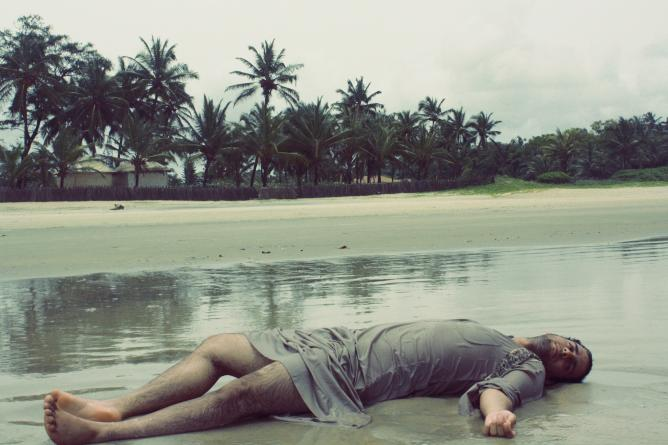 La vie m'est insupportable, 70x105cm, 2012 via -Ibi Ibrahim