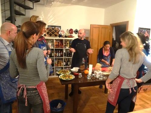 Italian cook & meet evening in Prague - event