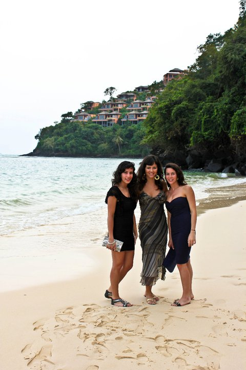 in Thailand - My 2 favourite girls - Rima & Rula