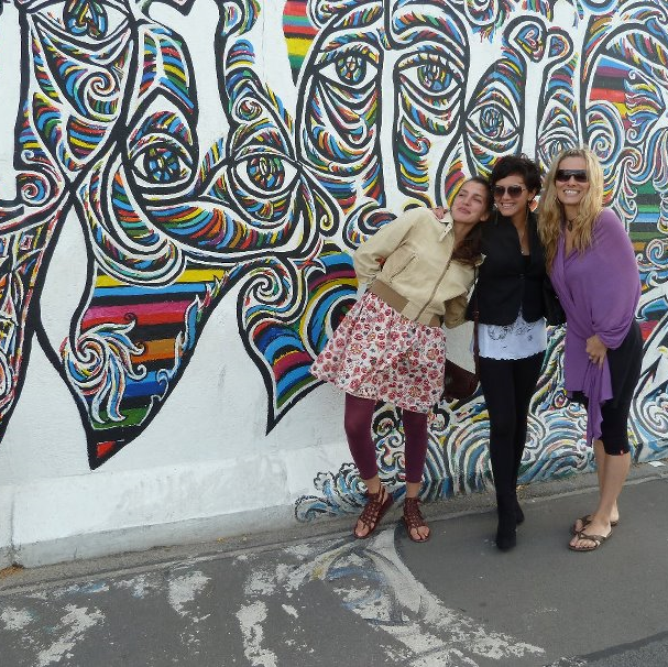 in Berlin with my lovely cousin Lucia and my great friend Andrejka