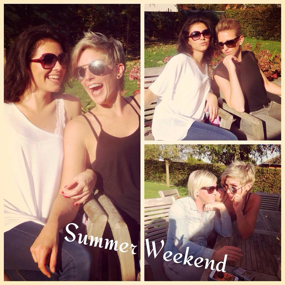 Amazing Summer in Belgium. Love you girls!