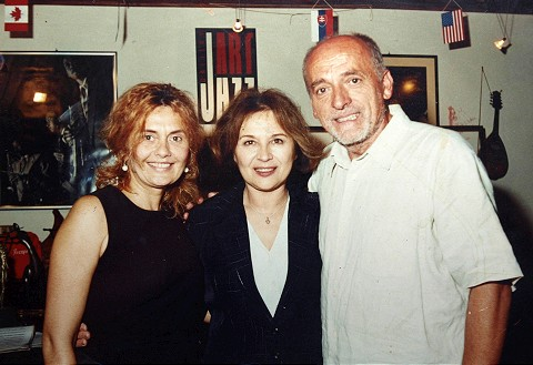 Yveta, actress Emília Vášáryová, and Dodo