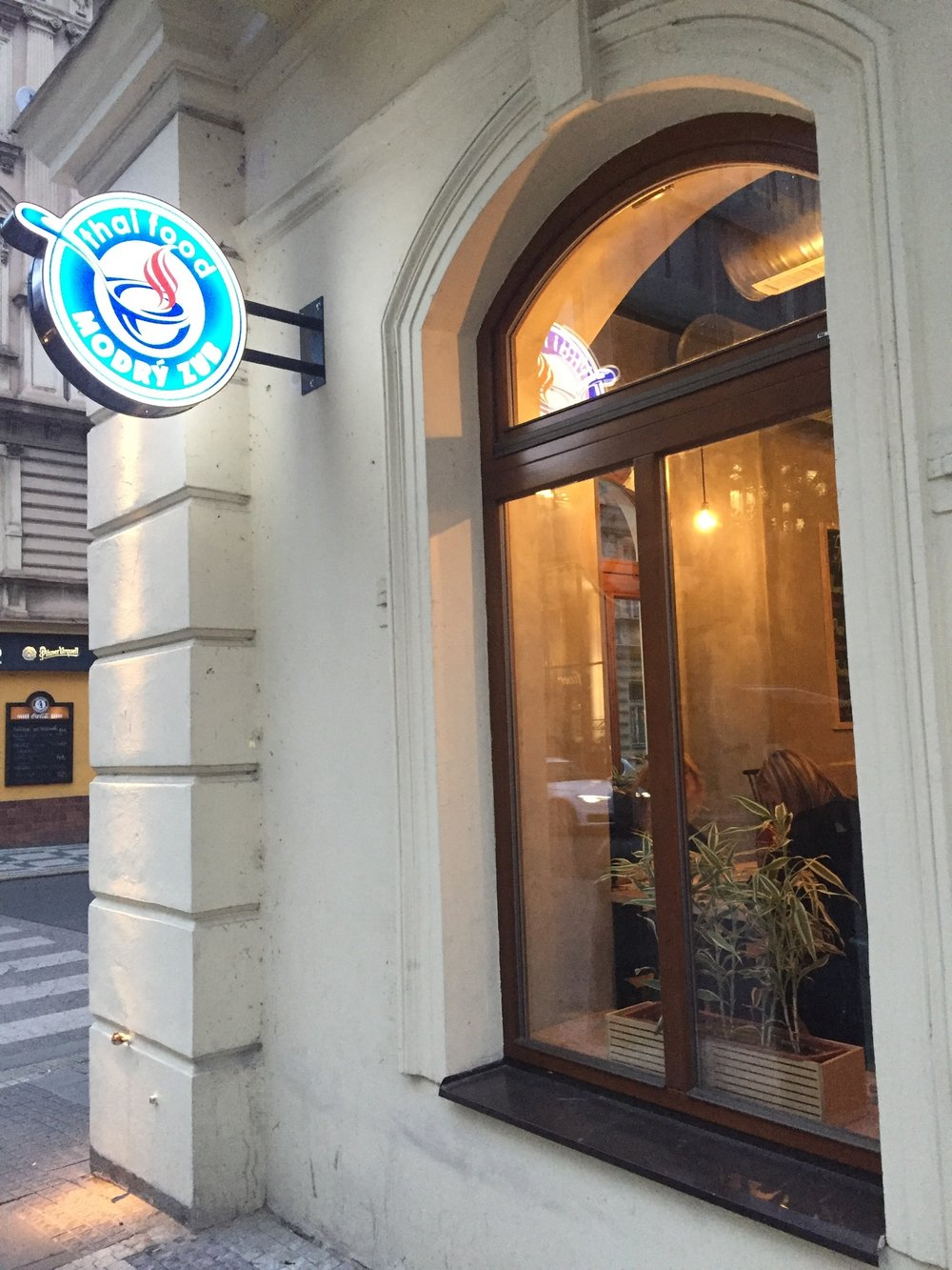 Thai Food Modry Zub October Discoveries Urban Kristy Prague