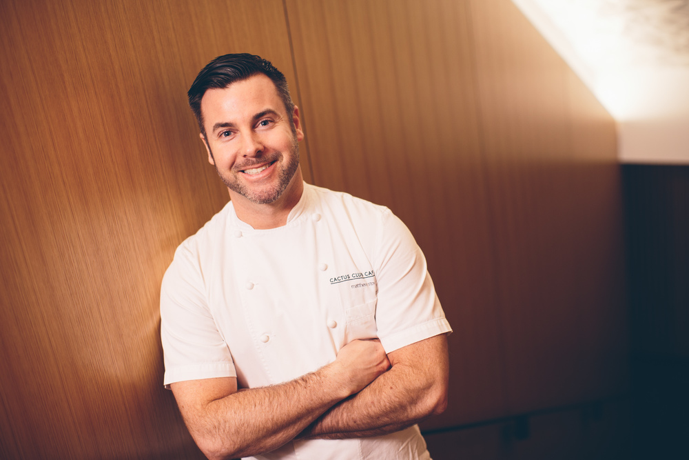 Chef Matthew Stowe, Cactus Club, Vancouver