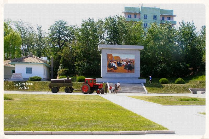north-korean-mushroom-farm-red-truck