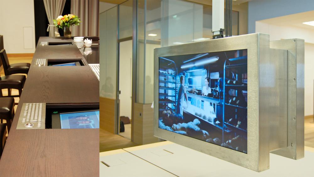 Monitore überall –  displays everywhere