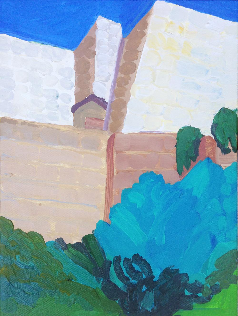 Frank Lloyd Wright, Ennis House, LA, CA