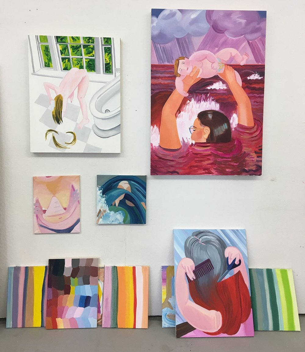 Studio View, March 2018