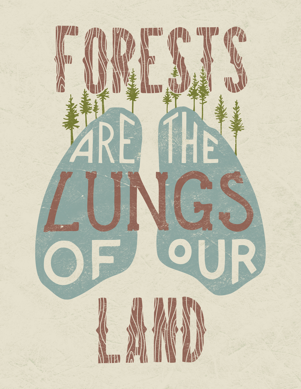 Forests are the Lungs of our Land