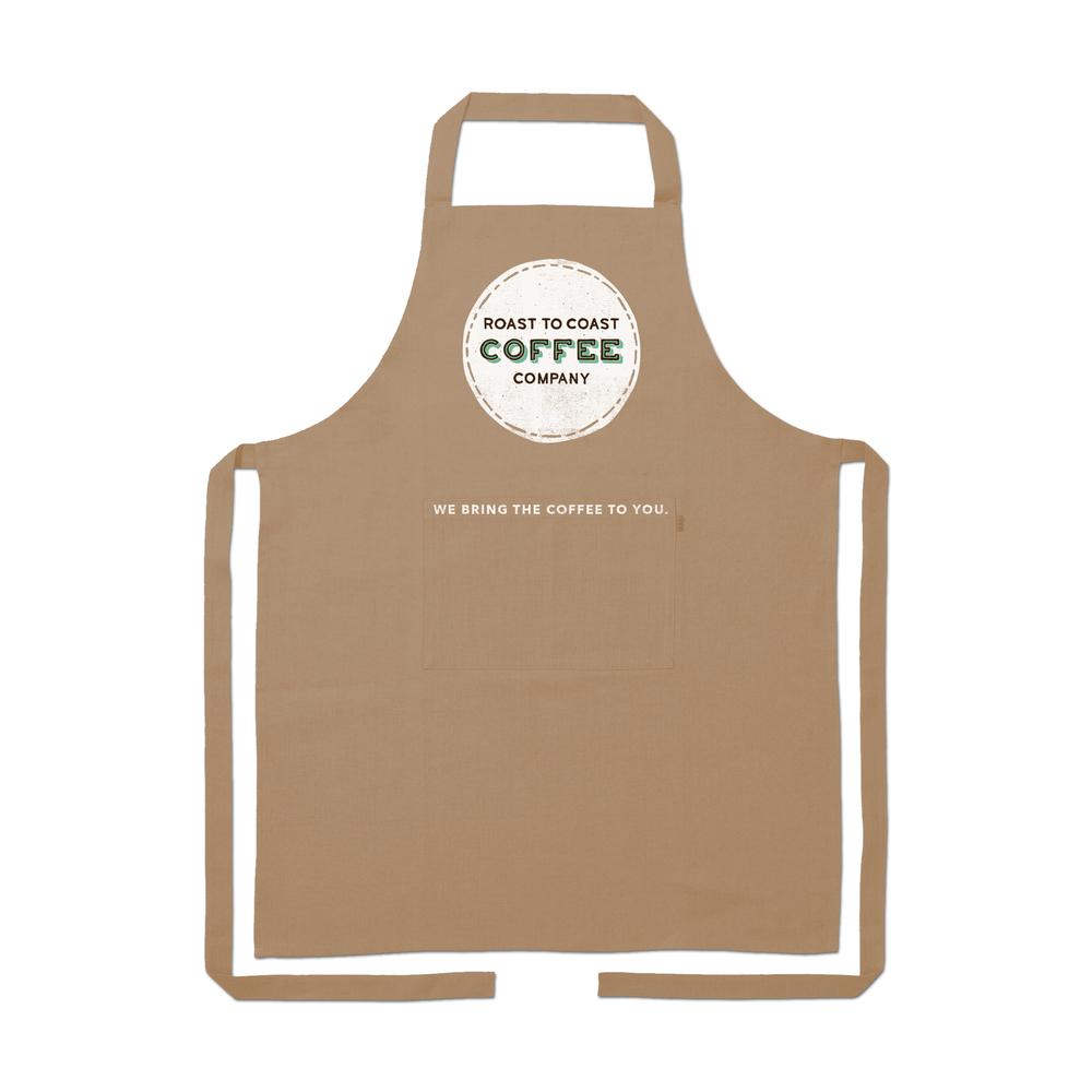 Café Barista Apron Design