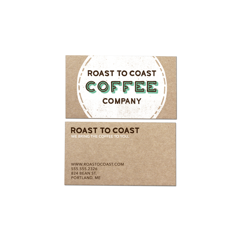 Roast To Coast Business Card