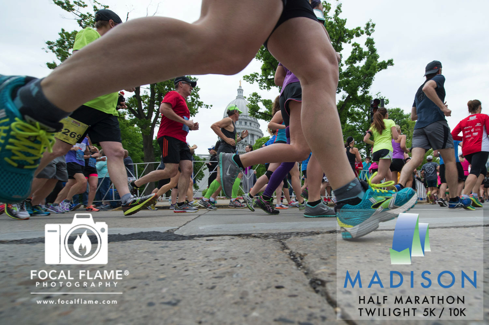 Many hands and months of effort are involved in making the Madison Marathon events a reality. Photo (c) 2015 Focal Flame Photography | Credit: Clint Thayer